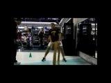 Джуниор Дос Сантос на тренировке по физическим кондициям